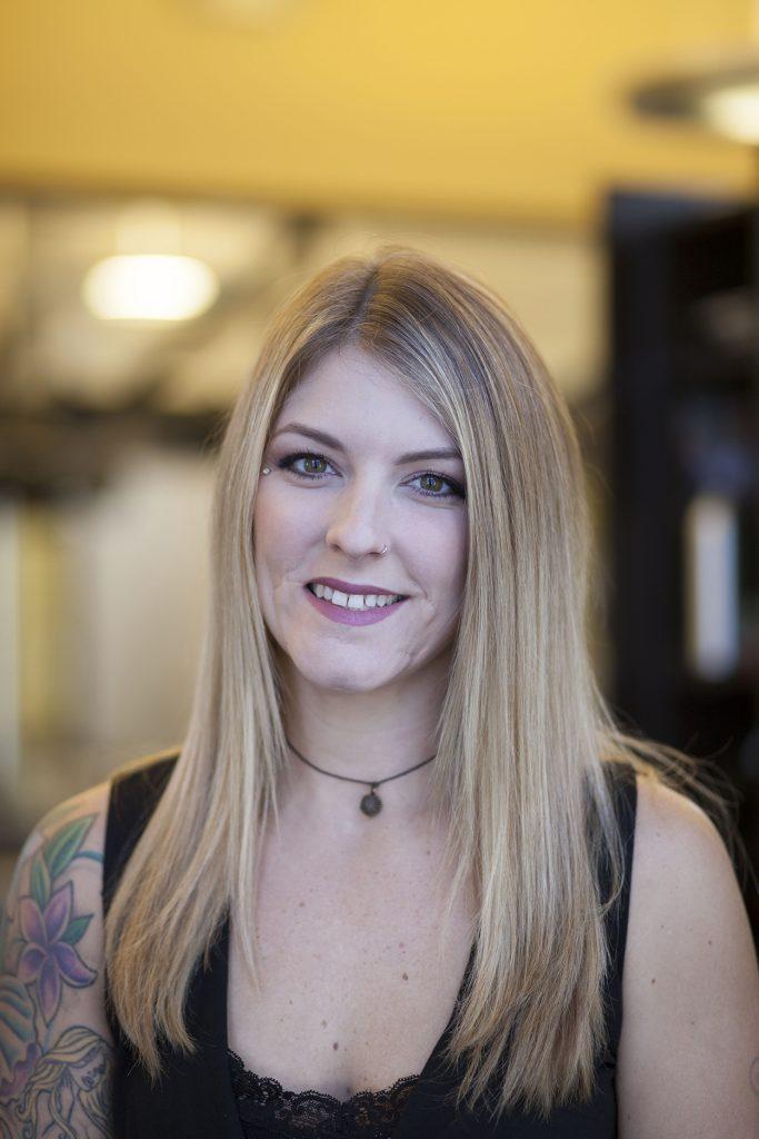 Sarah Powell - One of the best hair stylists of Treasure Coast - Michael Leonard's AVEDA Concept Hair Salon