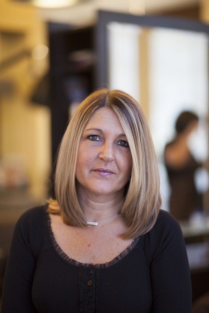 Karin Rogers - One of the best hair stylists of Treasure Coast - Michael Leonard's AVEDA Concept Hair Salon